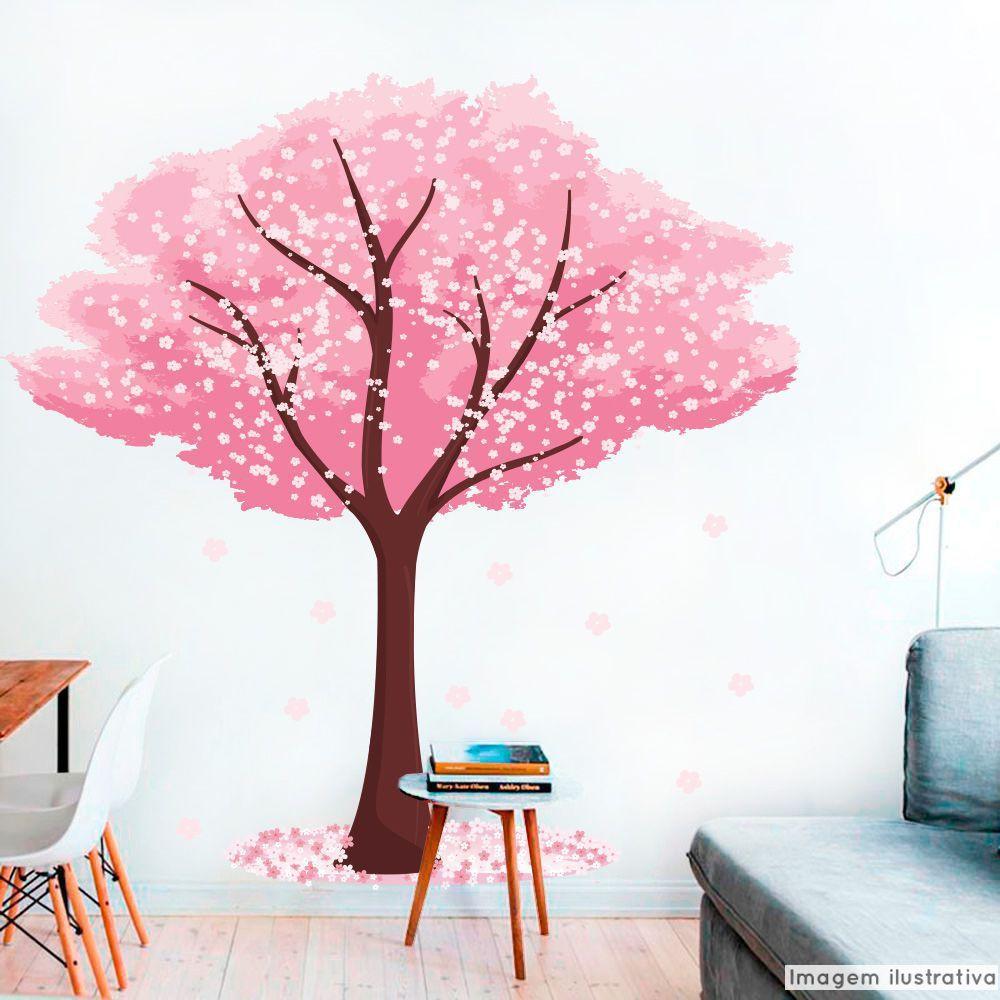 Adesivo Árvore Cerejeiras  - TaColado