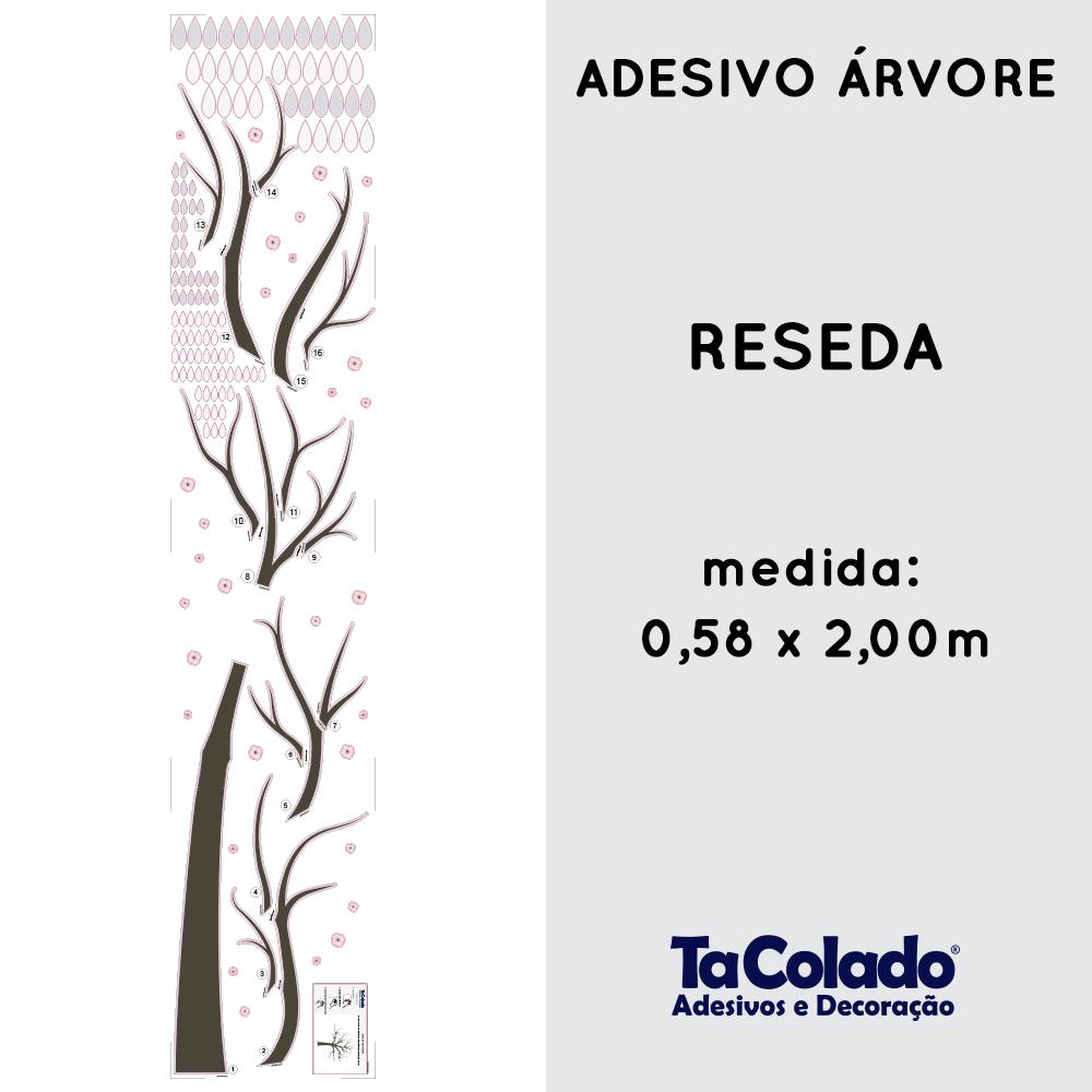 Adesivo Árvore Reseda  - TaColado