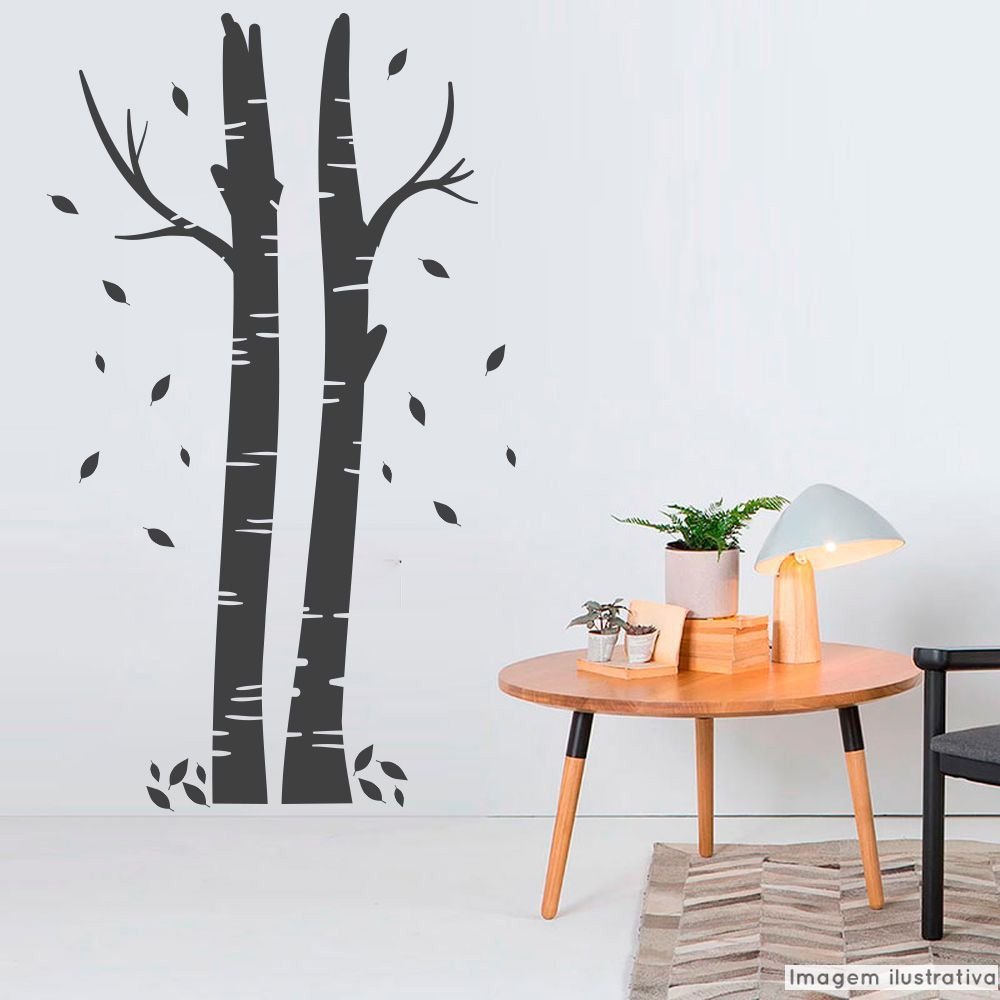 Adesivo Árvore Vidoeiro  - TaColado