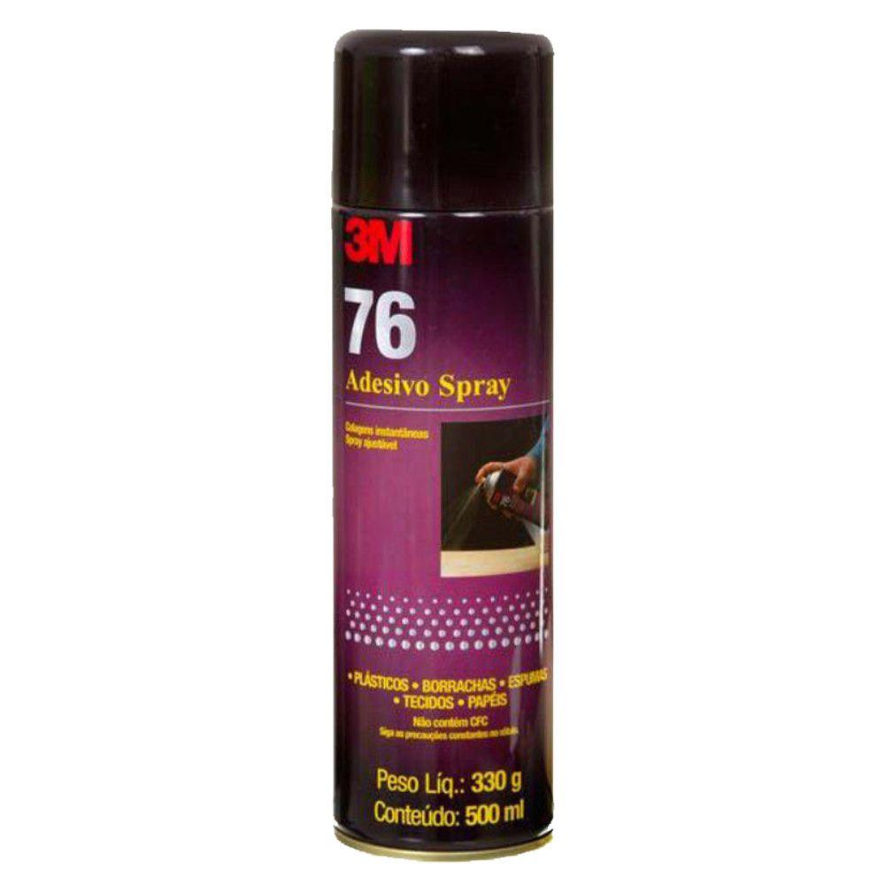 Adesivo Cola Spray 76 Alto Tack 3M 300g  - TaColado