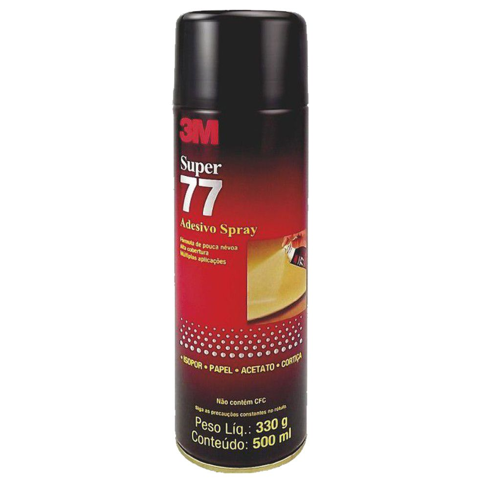 Adesivo Cola Spray 77 Permanente 3M 300g  - TaColado