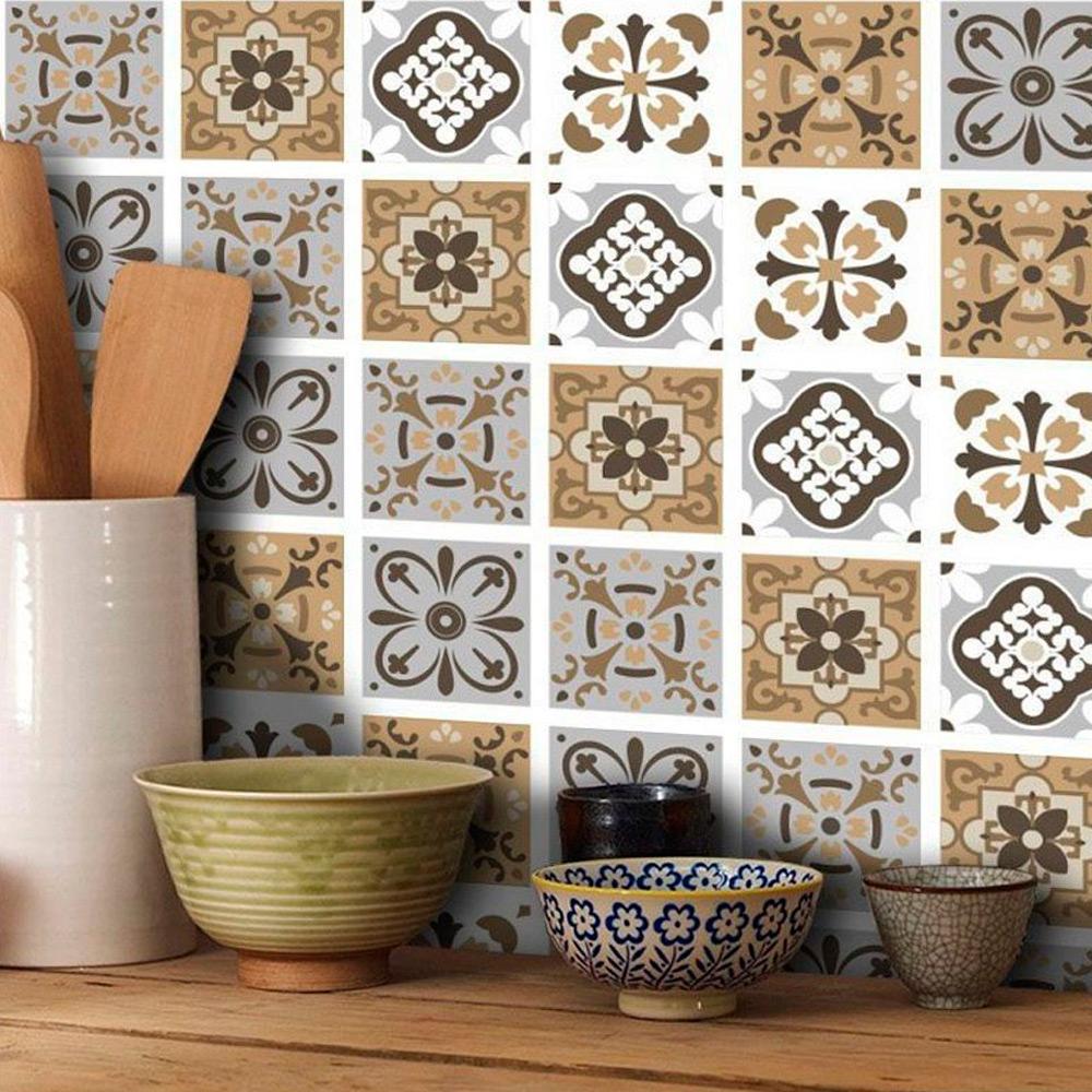 Adesivo Destacável Azulejo para Cozinha Barcelona  - TaColado