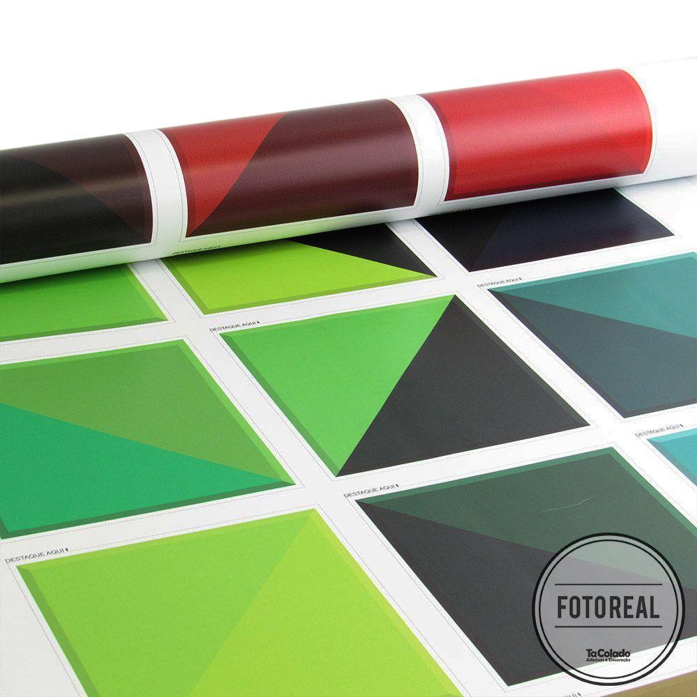 Adesivo Destacável Azulejo para Cozinha Triângulo Prisma  - TaColado