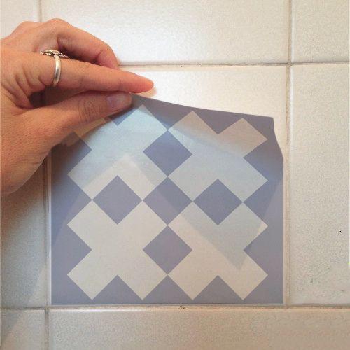 Adesivo Destacável Azulejo para Cozinha Sintra  - TaColado