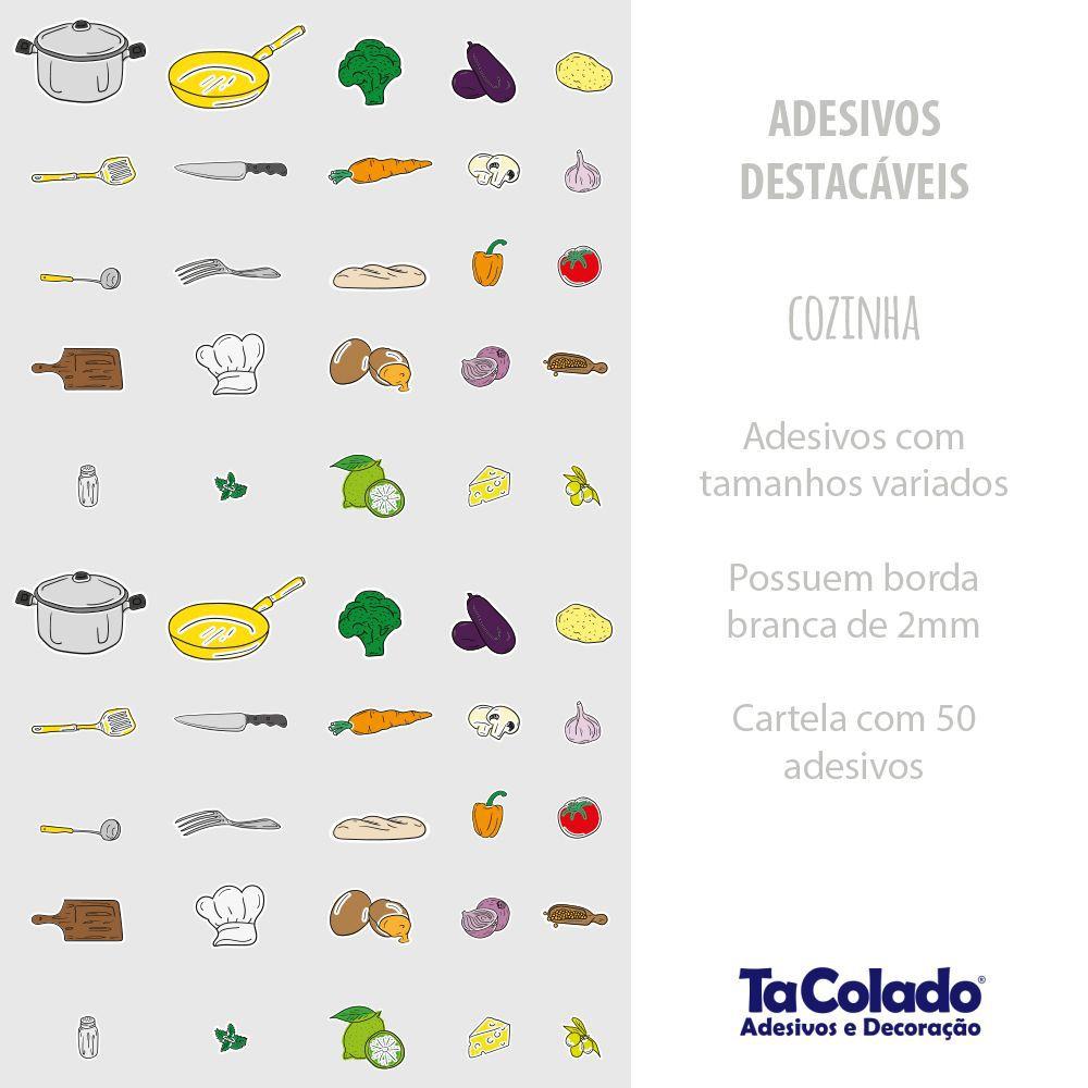 Adesivo Destacável Cozinha  - TaColado