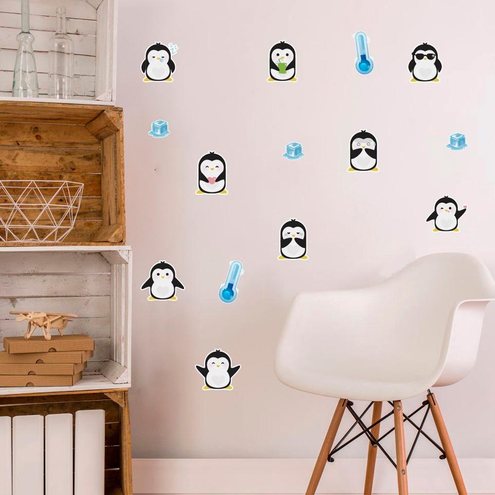 Adesivo Destacável Pinguim  - TaColado