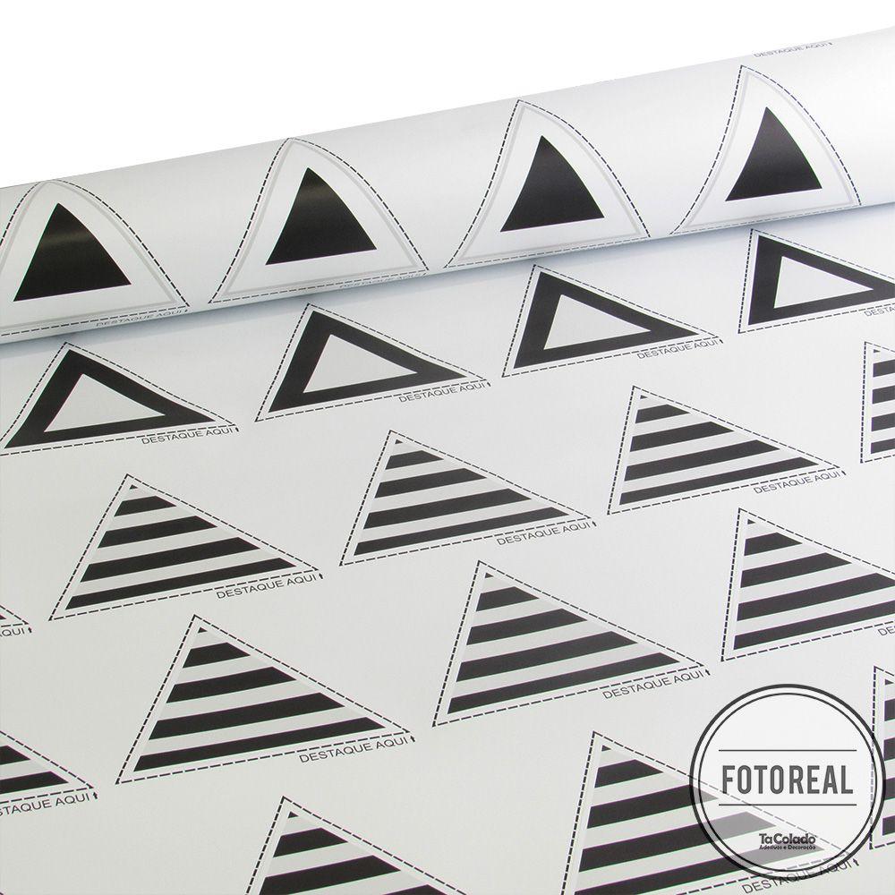 Adesivo Destacável Triângulos - Várias Cores  - TaColado
