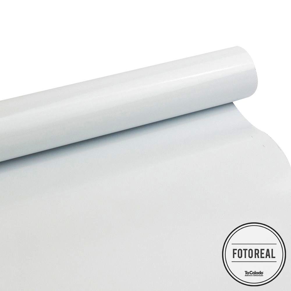 Adesivo Eletrostático Branco 1,00m  - TaColado