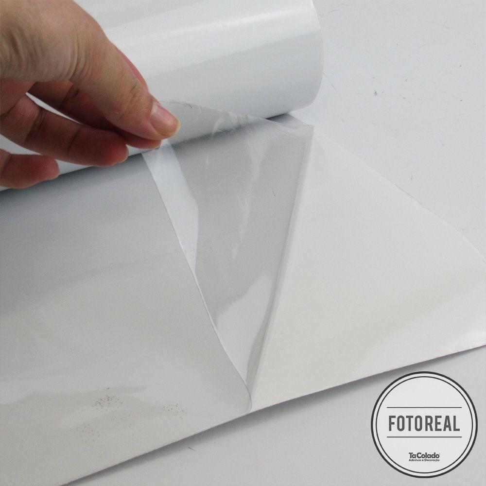Adesivo Eletrostático Transparente 1,00m  - TaColado