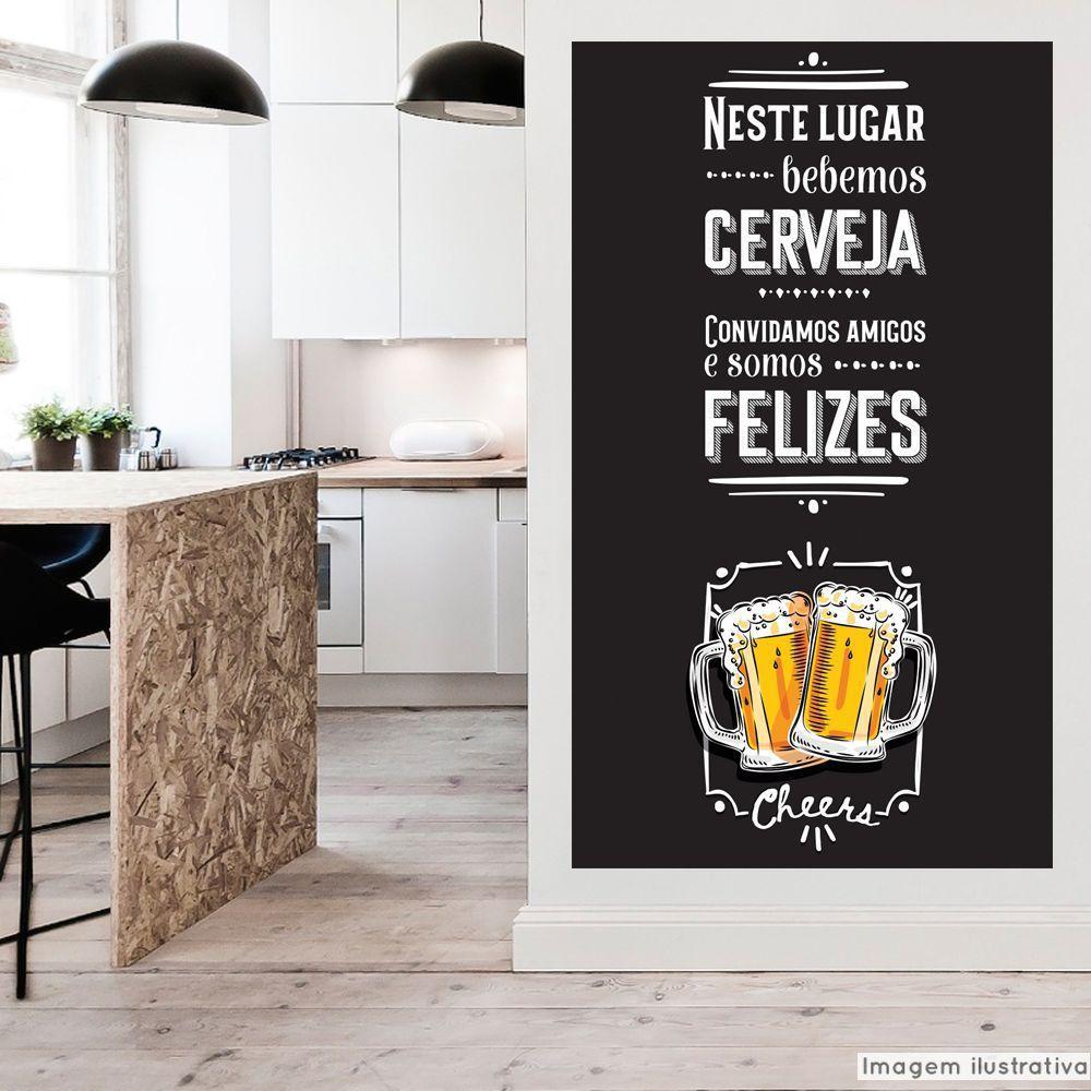 Adesivo Frase Cheers  - TaColado