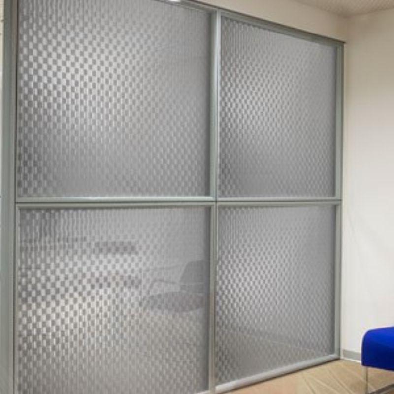 Adesivo Jateado para vidros Pixel 1,22m