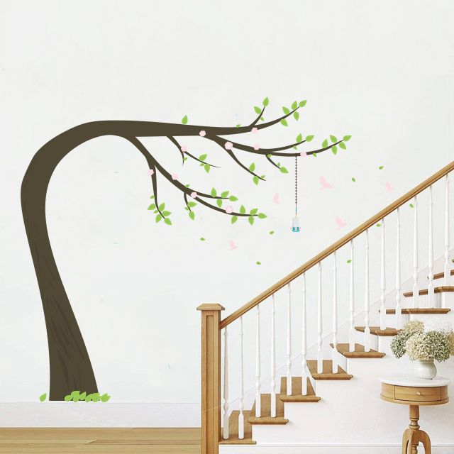 Adesivo Árvore Manacá  - TaColado