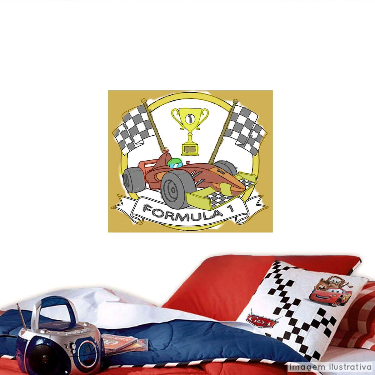 Adesivo para Colorir Formula 1  - TaColado