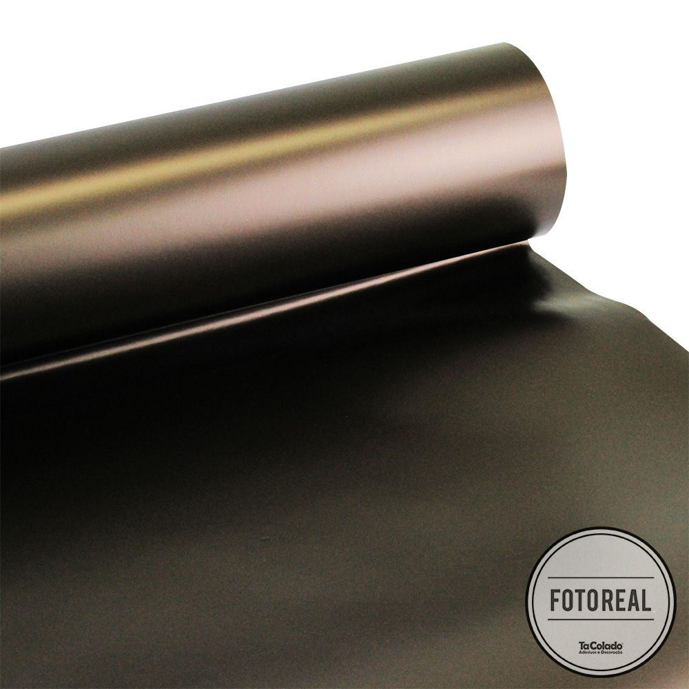 Adesivo para envelopamento automotivo Alltak Satin Brown Metallic 1,38m  - TaColado