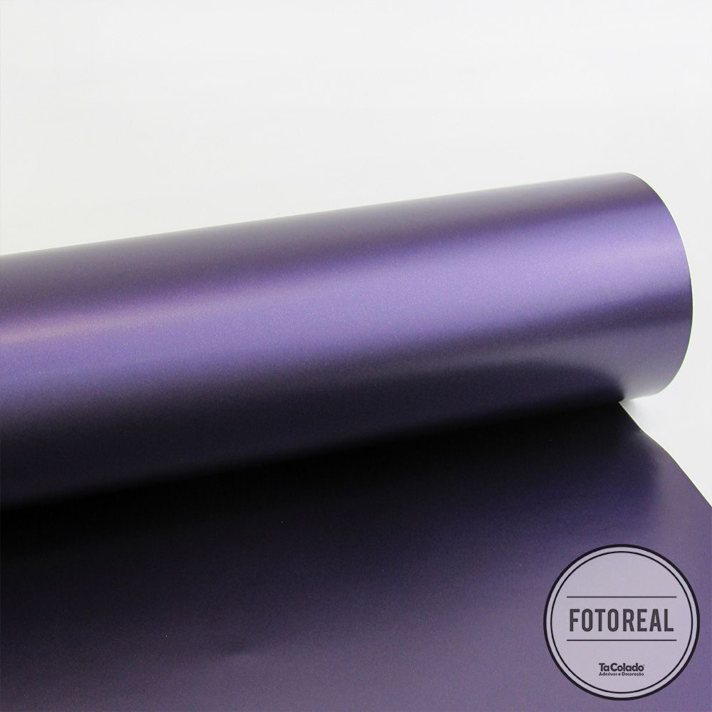 Adesivo para envelopamento automotivo Alltak Satin Purple Metallic 1,38m  - TaColado