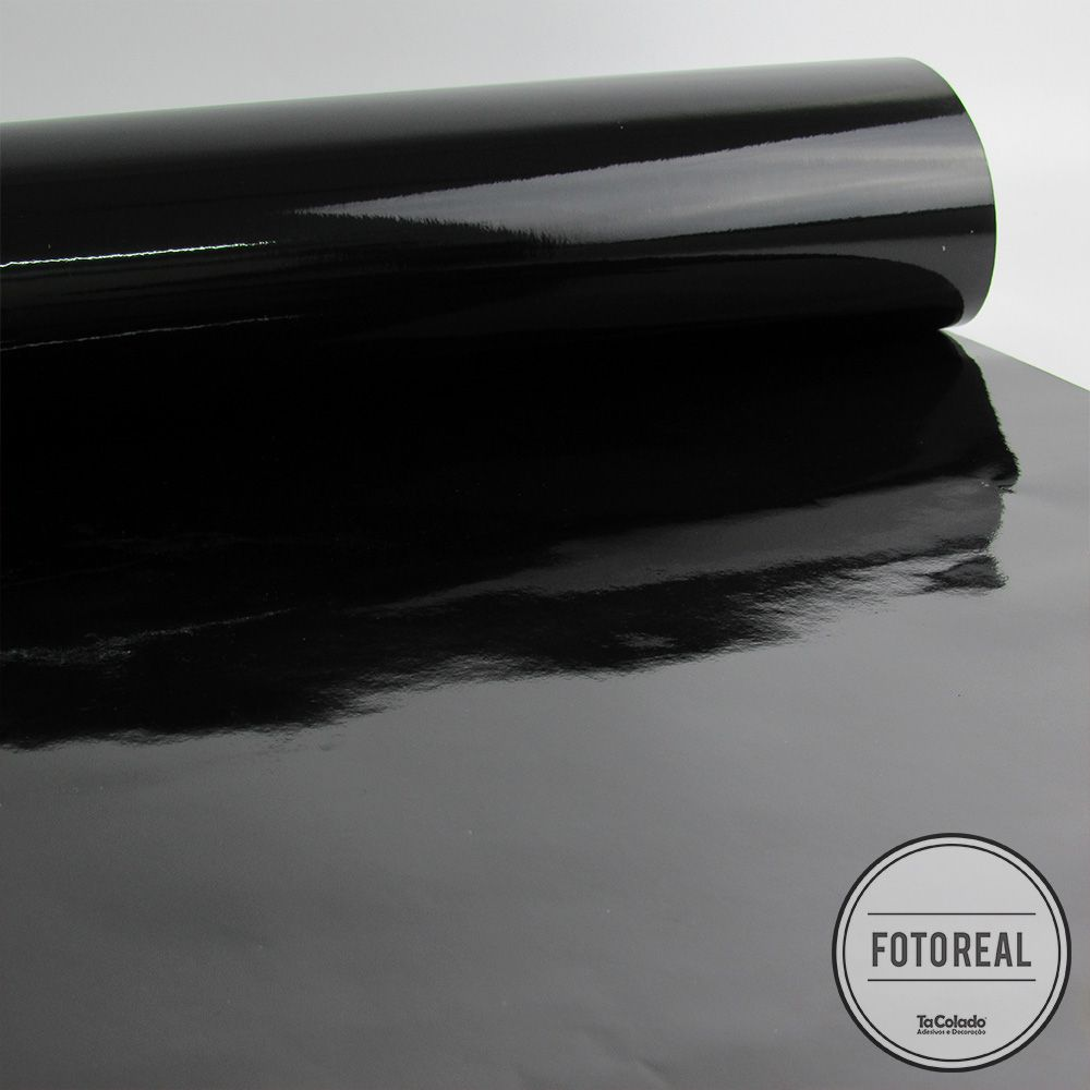 Adesivo para envelopamento automotivo Alltak Ultra Gloss Black Piano 1,38m  - TaColado