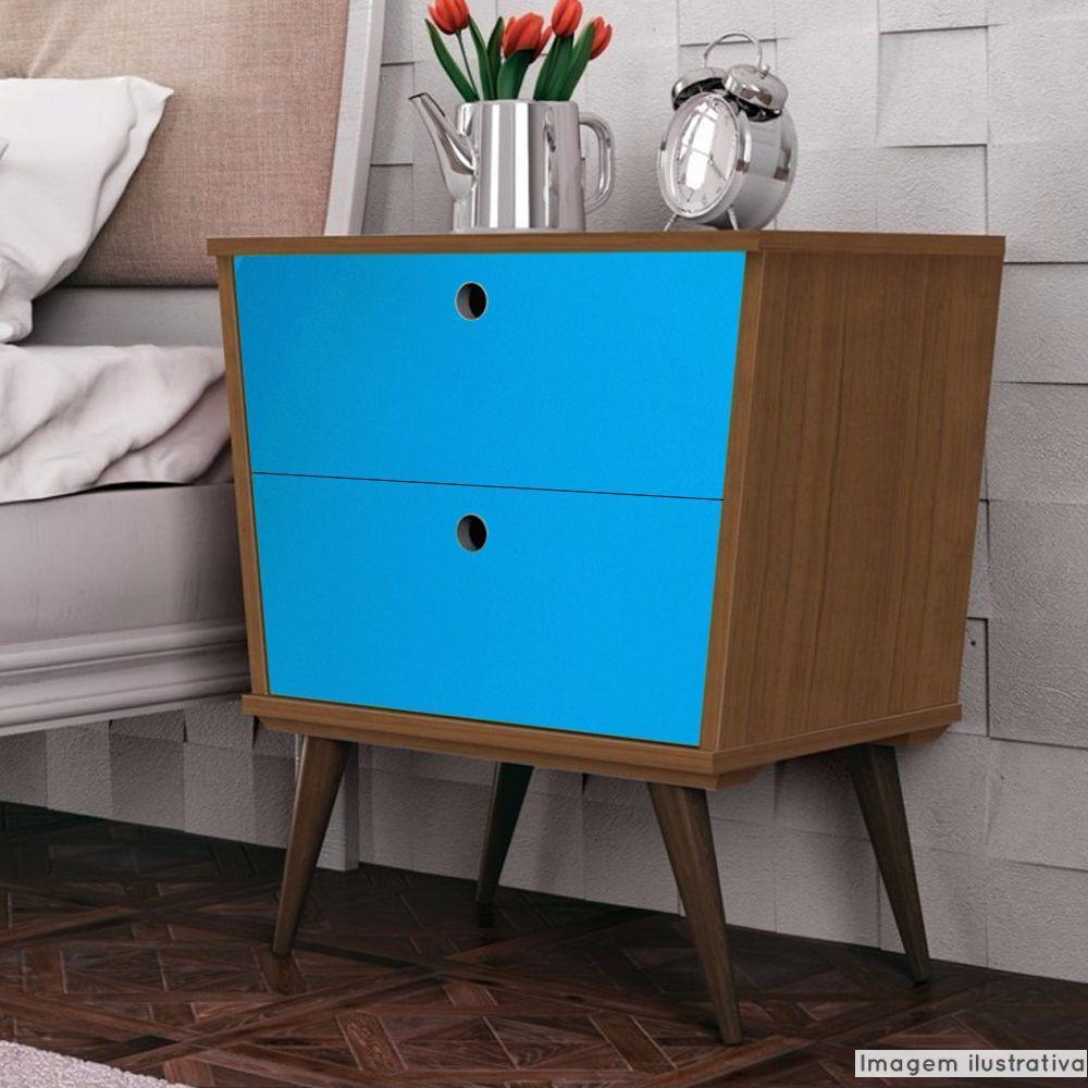 Adesivo para móveis Brilhante Azul Céu 0,61m  - TaColado