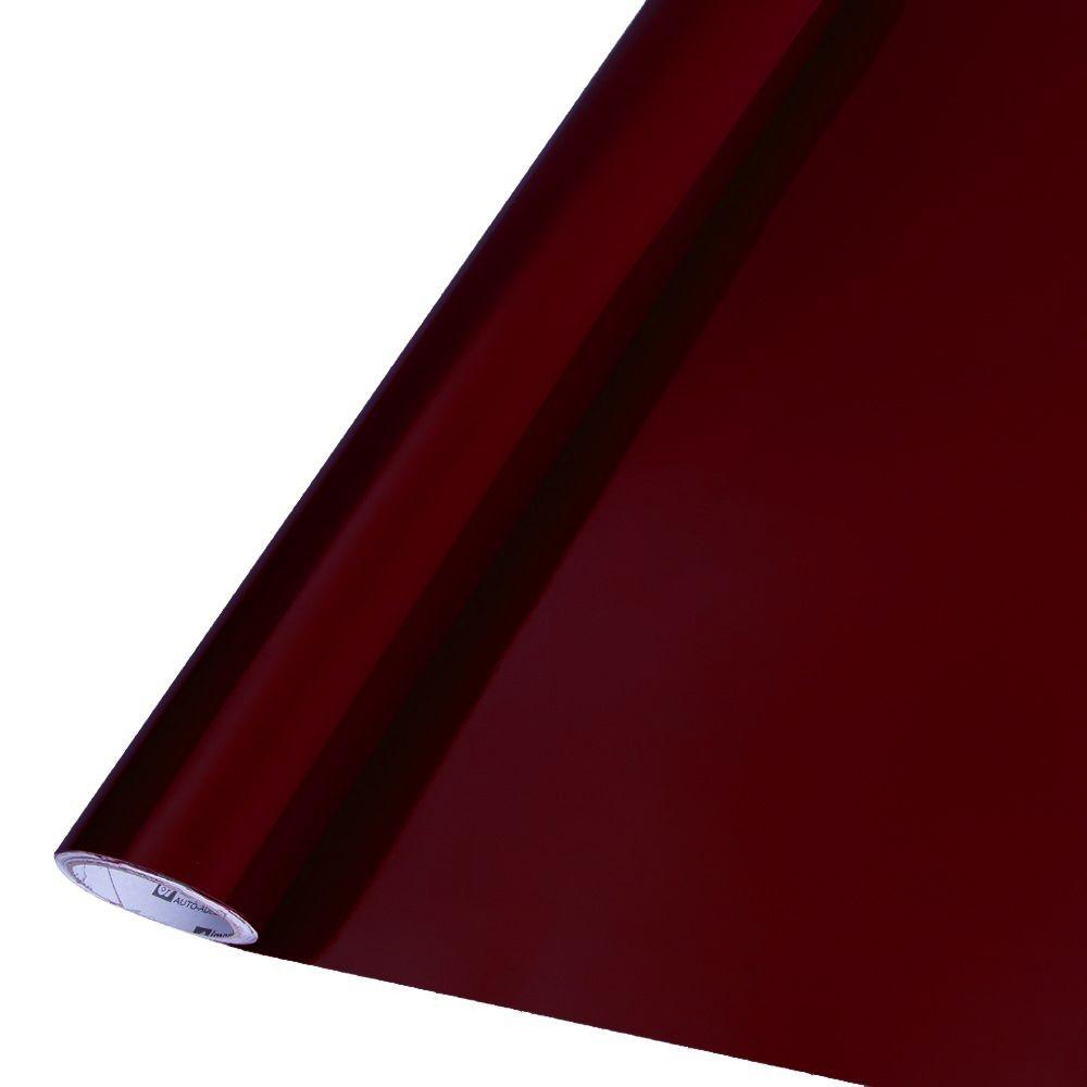 Adesivo para móveis Brilhante Bordo 0,50m  - TaColado