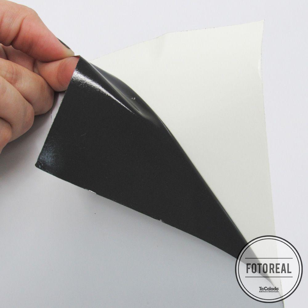 Adesivo para móveis Brilhante Branco Bloqueador 1,00m  - TaColado