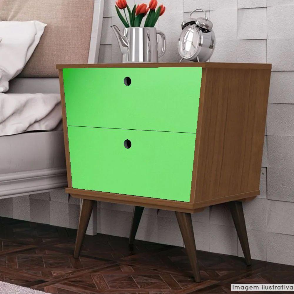 Adesivo para móveis Brilhante Verde Abacate 1,00m  - TaColado