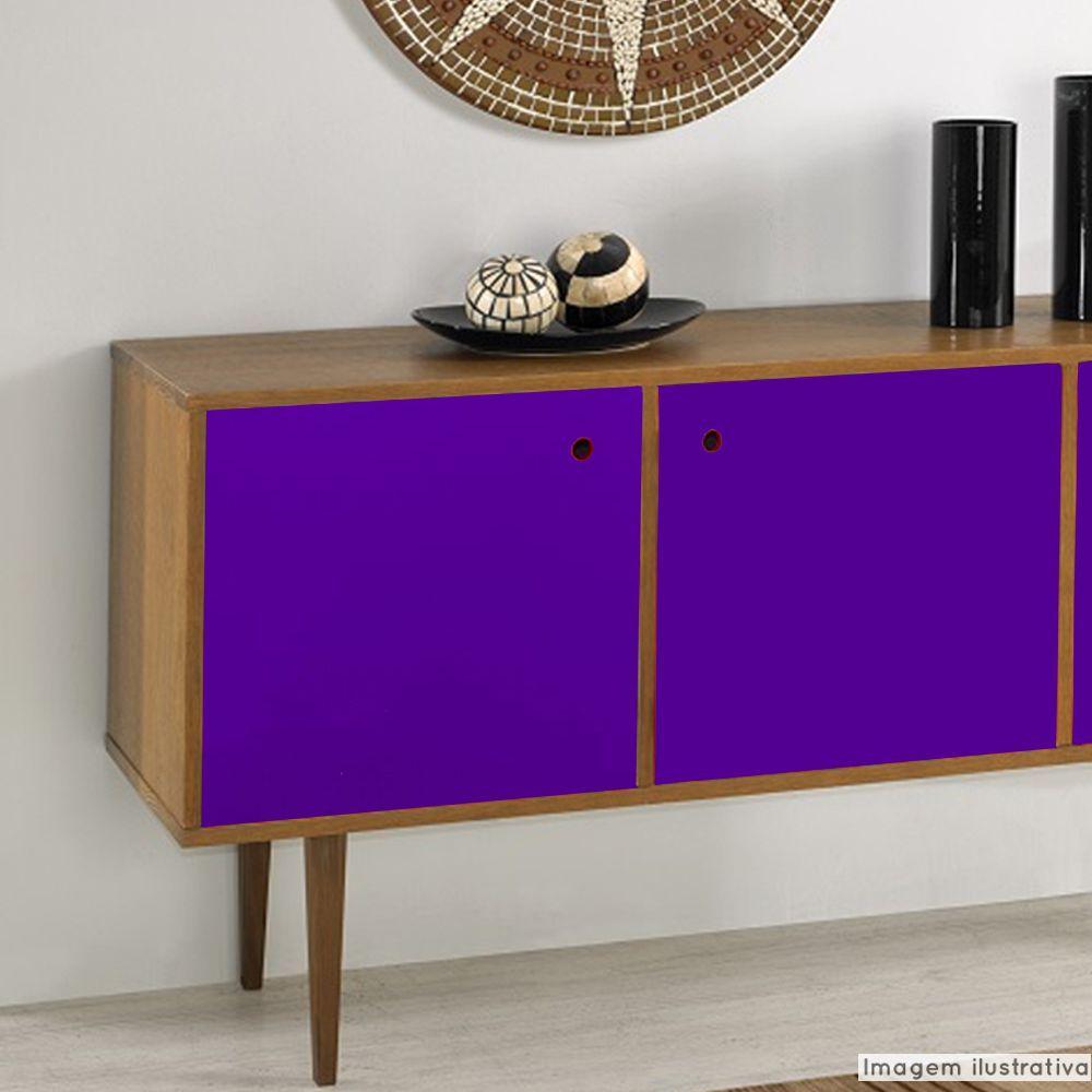 Adesivo para móveis Brilhante Violeta 0,50m  - TaColado