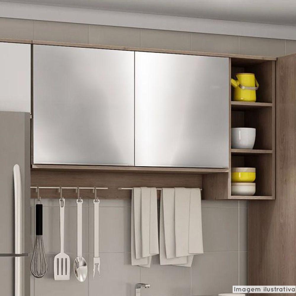 Adesivo para móveis Cromado Prata 1,00m  - TaColado