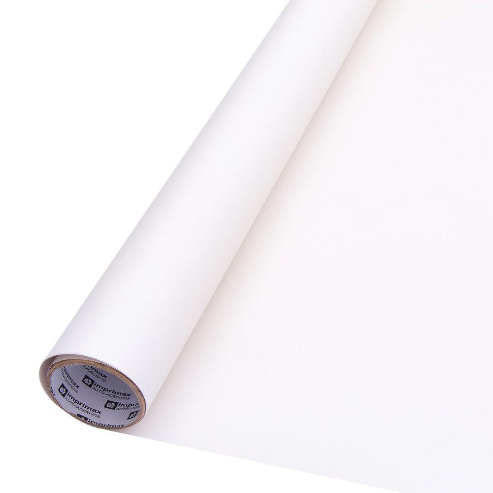 Adesivo para móveis Fosco Branco 1,00m  - TaColado