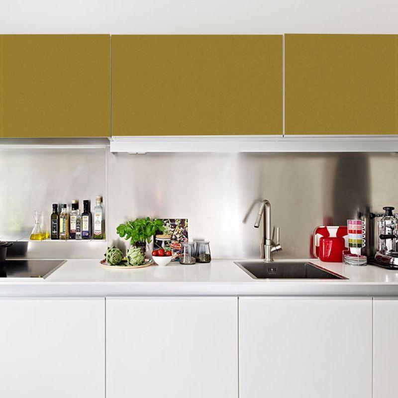 Adesivo para móveis Fosco Dourado 0,61m  - TaColado