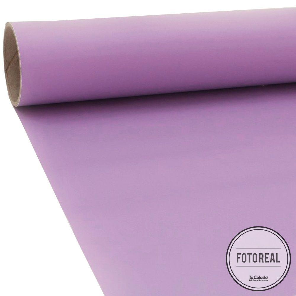 Adesivo para móveis Fosco Lilás 0,61m  - TaColado
