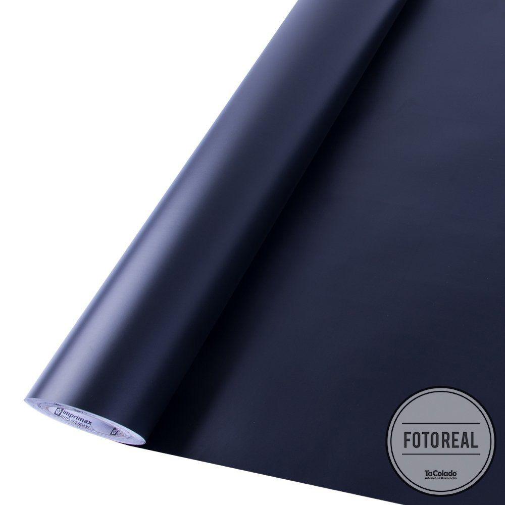 Adesivo para móveis Fosco Preto 1,00m  - TaColado