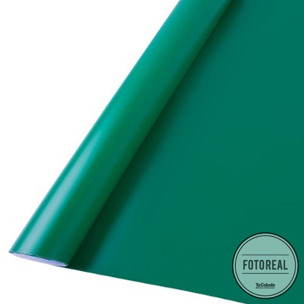 Adesivo para móveis Fosco Verde Escuro 0,50m  - TaColado