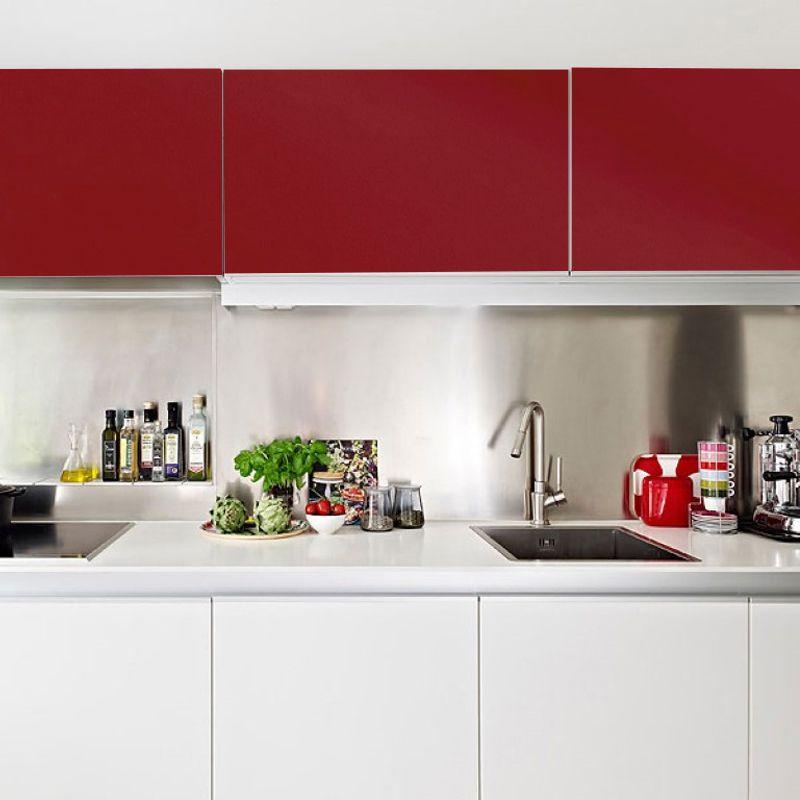 Adesivo para móveis Fosco Vermelho Granada 0,61m  - TaColado