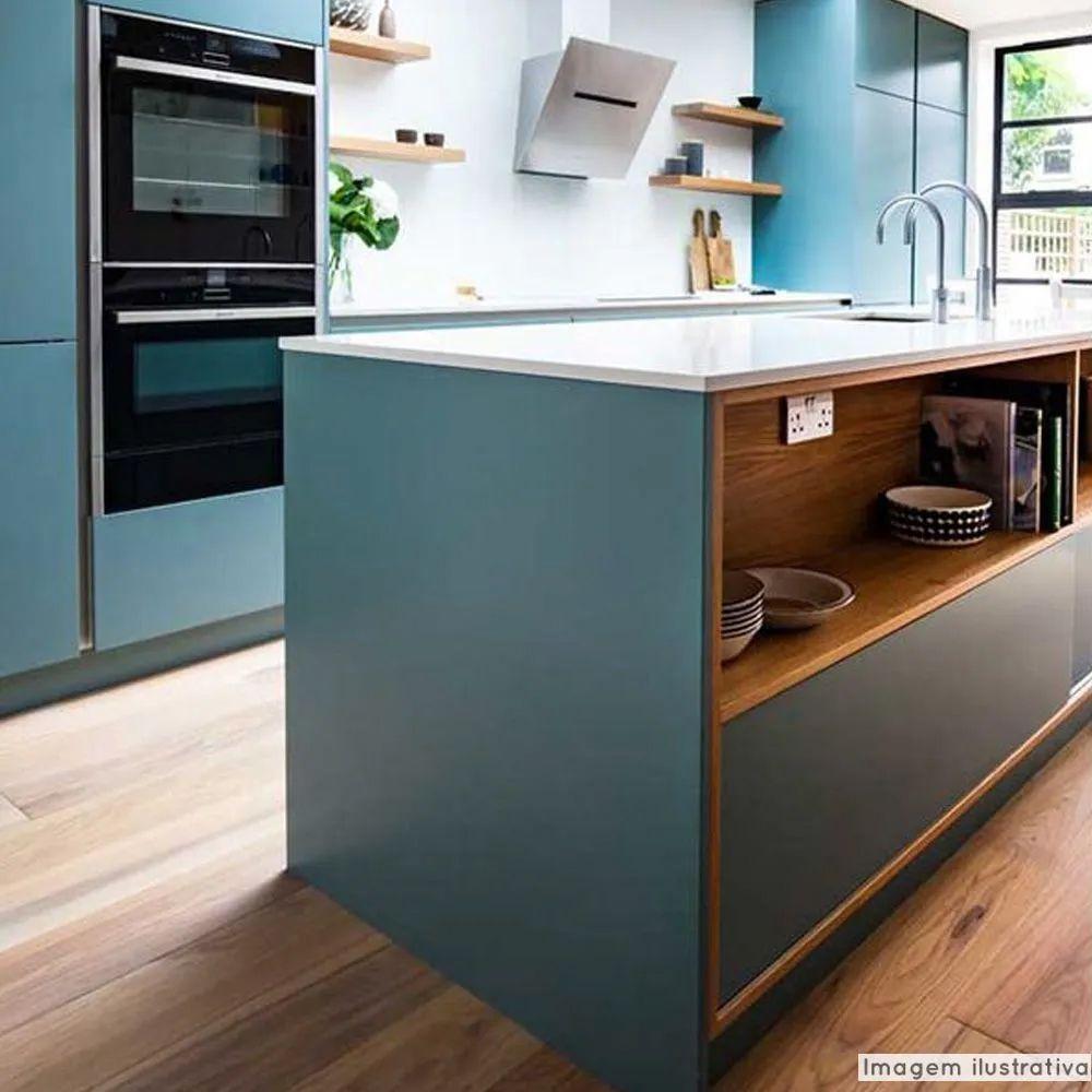 Adesivo para móveis Jateado Verde Matisse 0,61m  - TaColado
