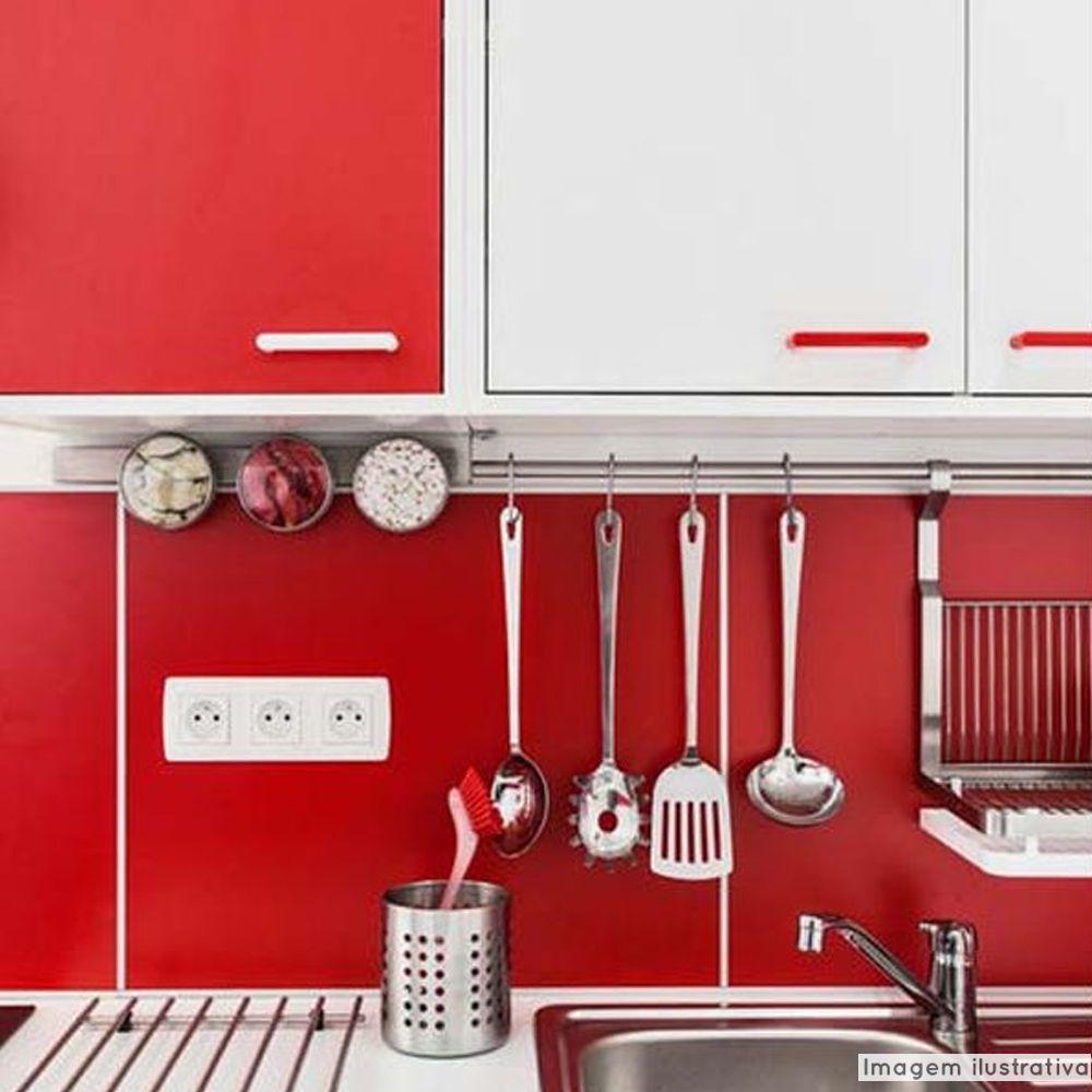 Adesivo para móveis Jateado Vermelho Malagueta 0,61m  - TaColado