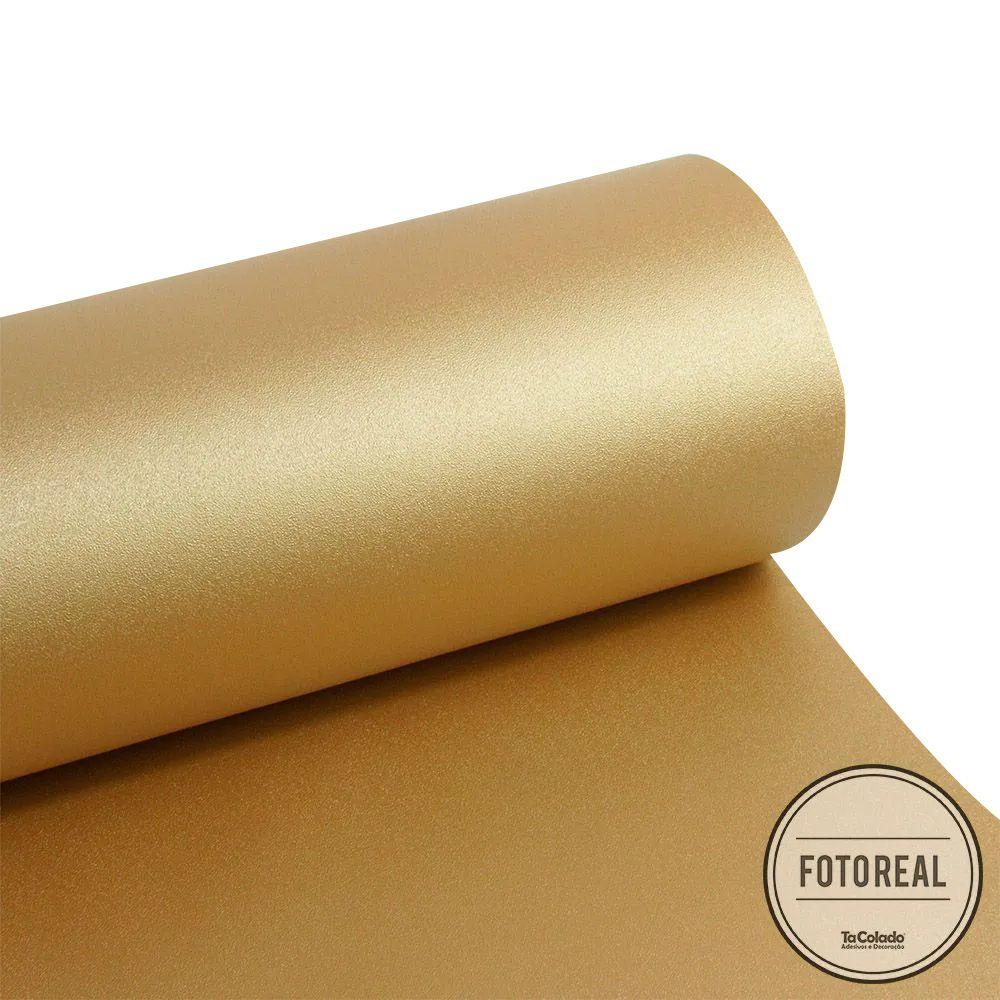 Adesivo para móveis Krusher Gold 0,61m  - TaColado