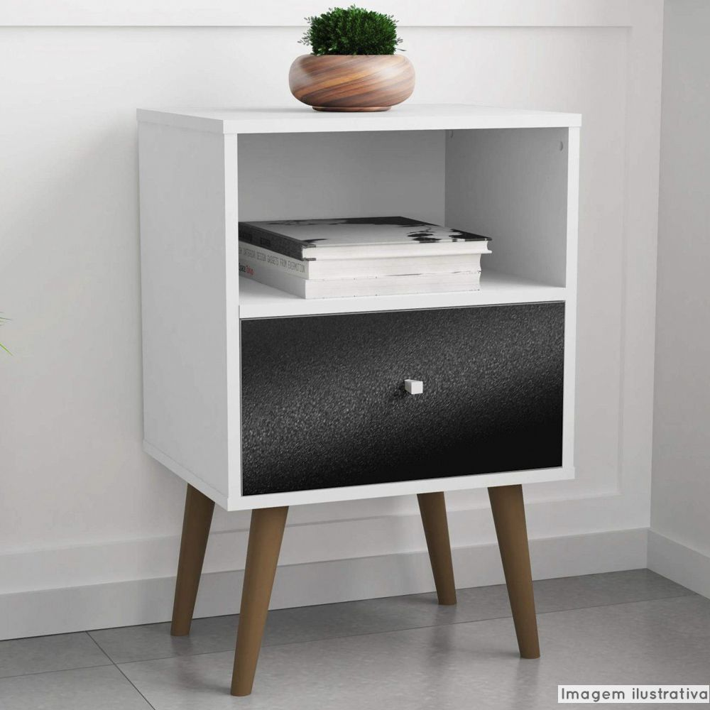 Adesivo para móveis Rústico Preto 0,16m  - TaColado