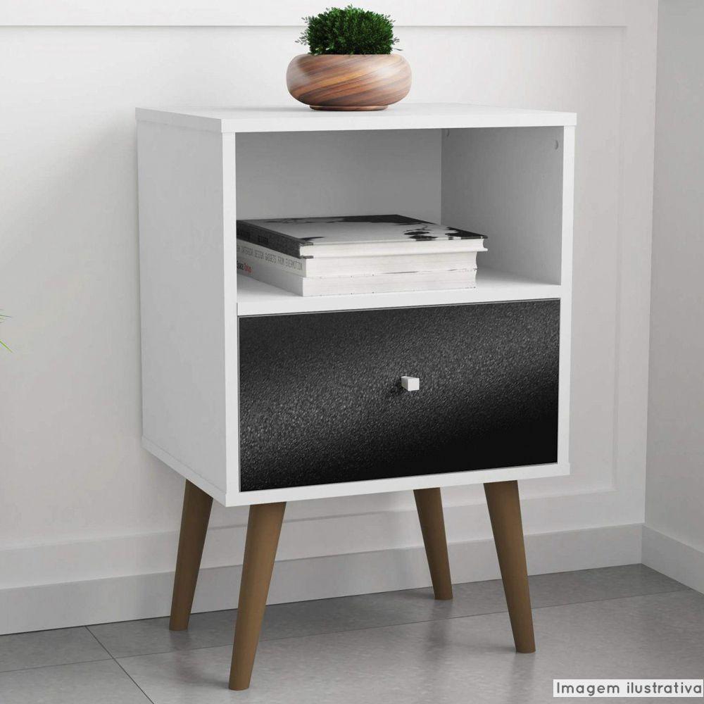 Adesivo para móveis Rústico Preto Krusher 0,61m  - TaColado
