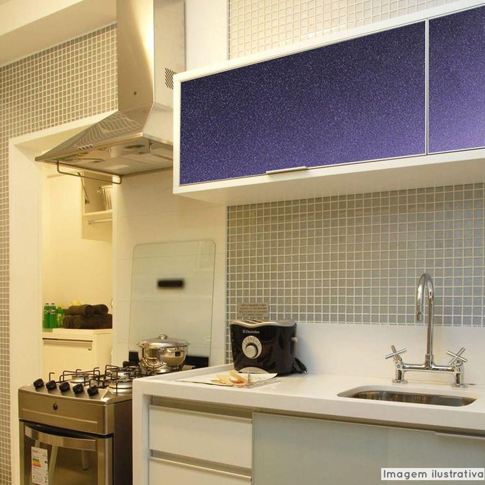 Adesivo para móveis Rústico Purple Metallic 0,61m  - TaColado