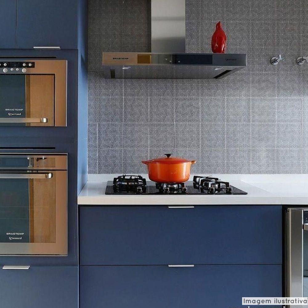 Adesivo para móveis Laca Alto Brilho Blue Metallic 0,61m  - TaColado