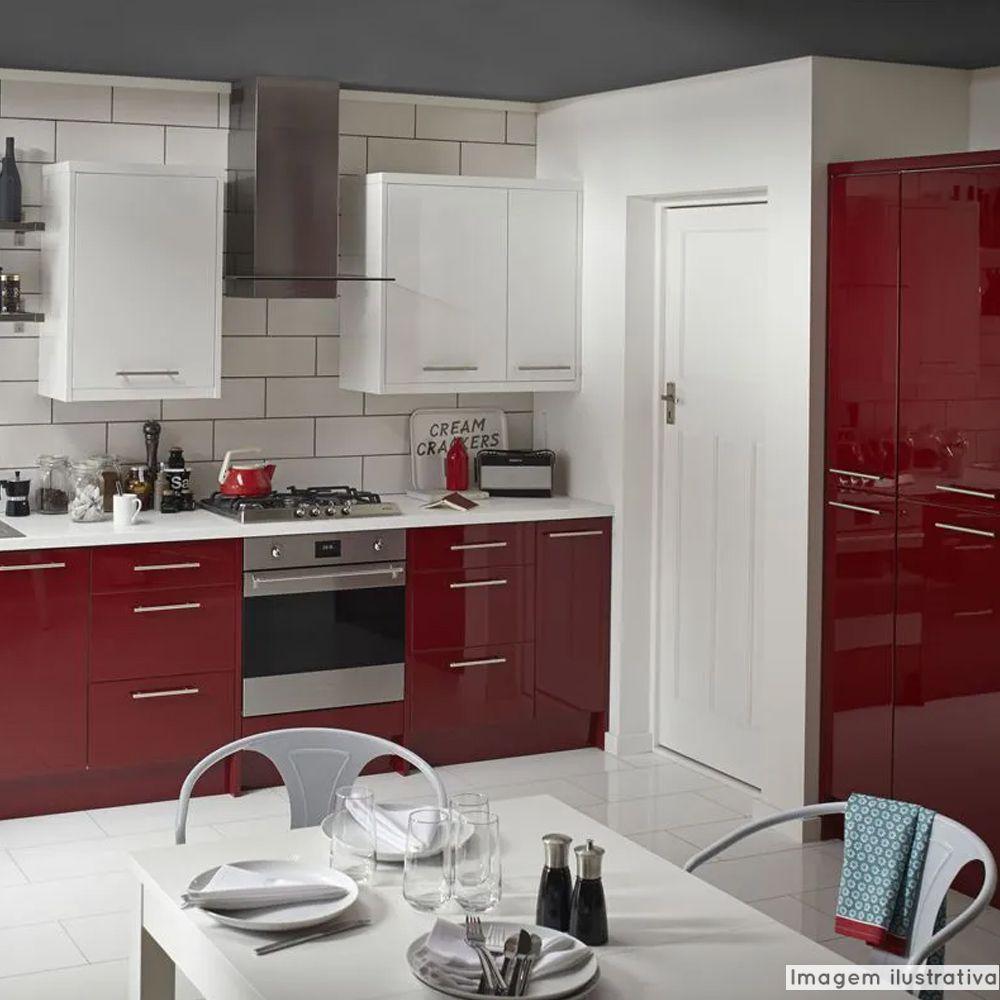 Adesivo para móveis Laca Alto Brilho Malbec Red 0,16m  - TaColado