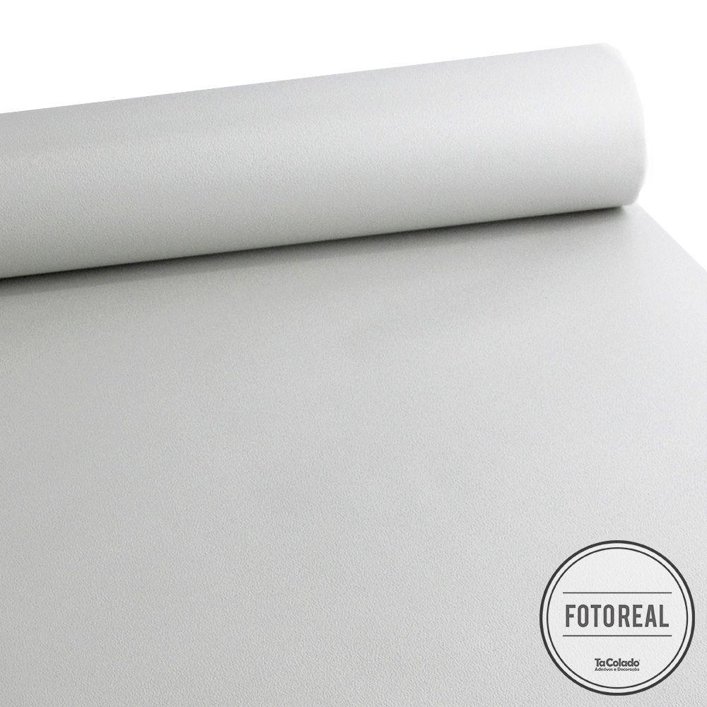 Adesivo para móveis Rústico Branco 0,61m  - TaColado