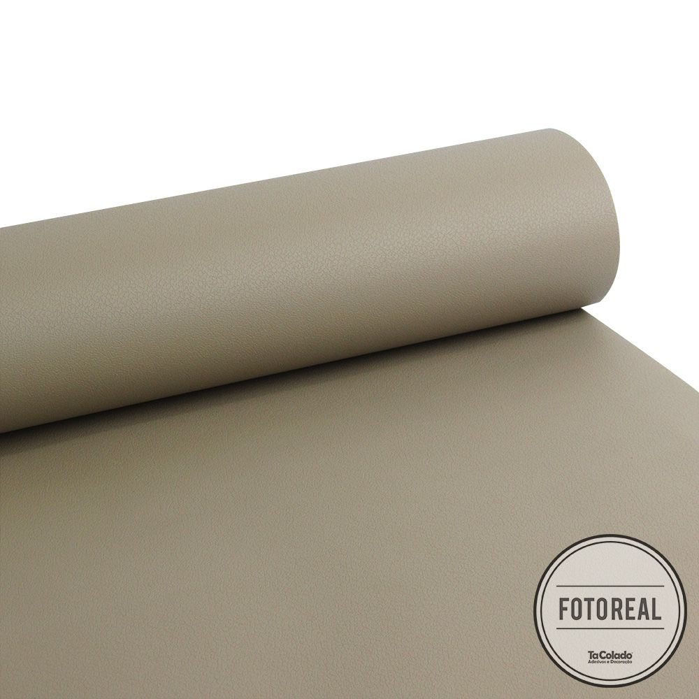 Adesivo para móveis texturizado Courvin Areia 0,61m  - TaColado