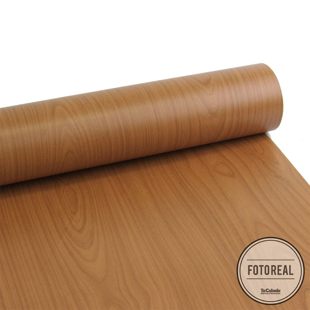 Adesivo para Móveis Texturizado Madeira Verona 0,61m  - TaColado
