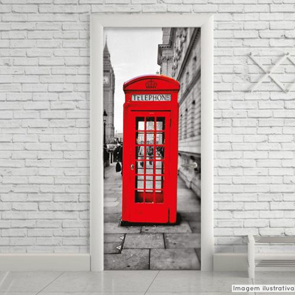 Adesivo para Porta Londres  - TaColado