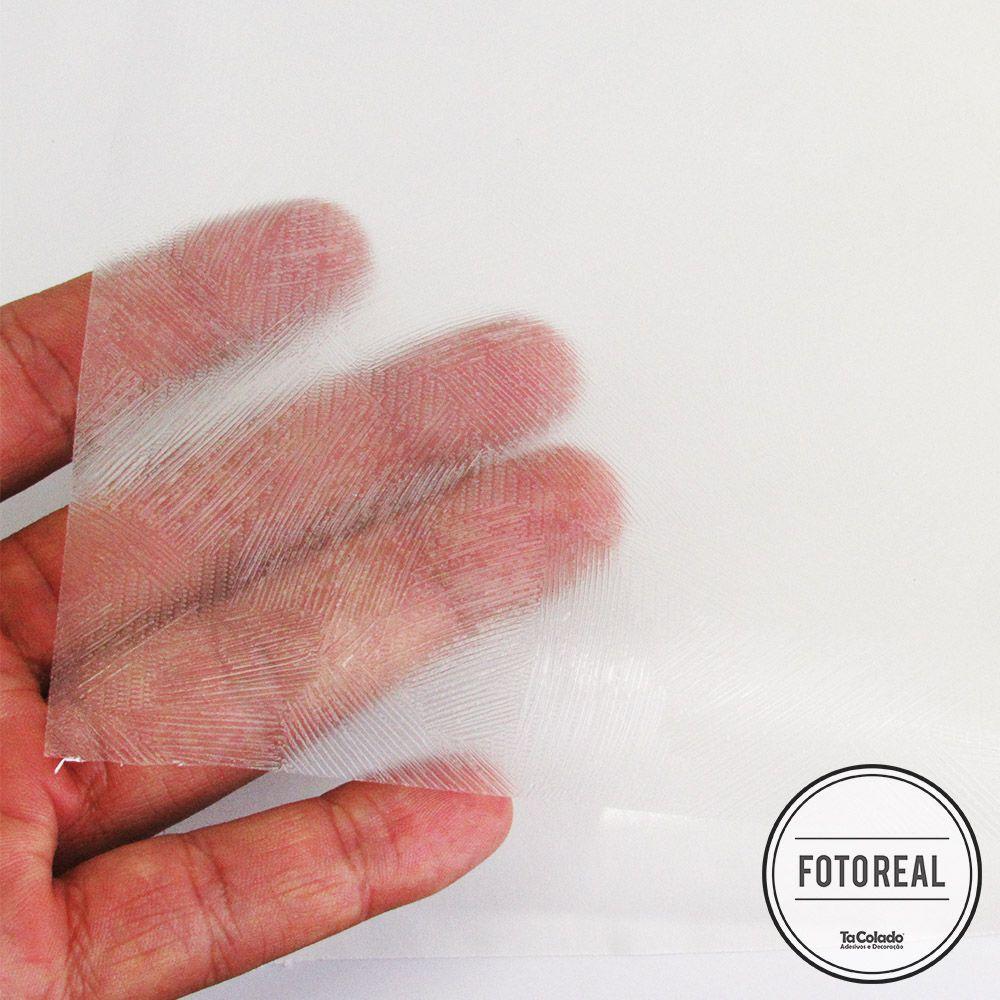 Adesivo Para Vidro Box Banheiro Jateado Artistico 0,61m Prova D
