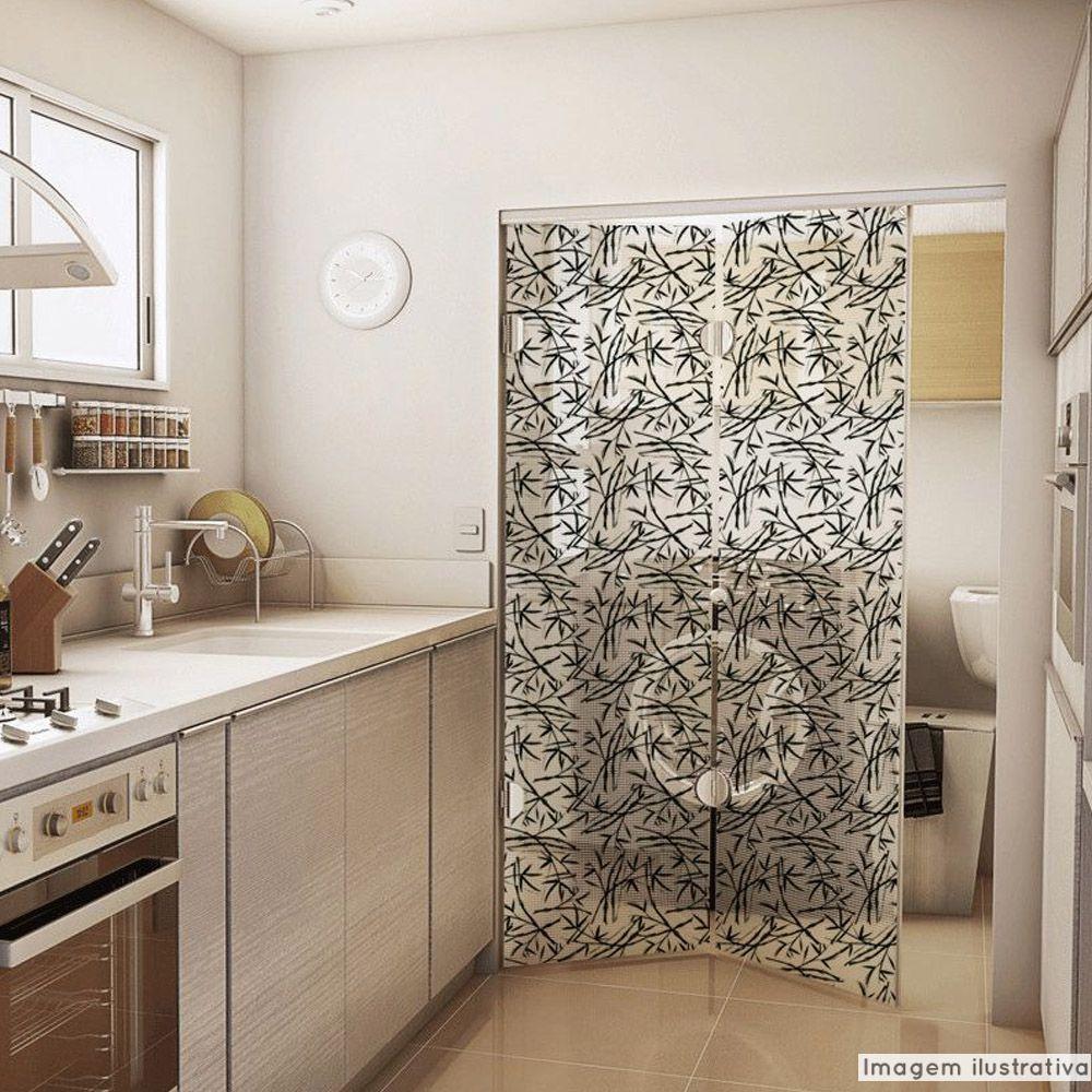 Adesivo Para Vidro Box Banheiro Jateado Decorado Japanese prova d