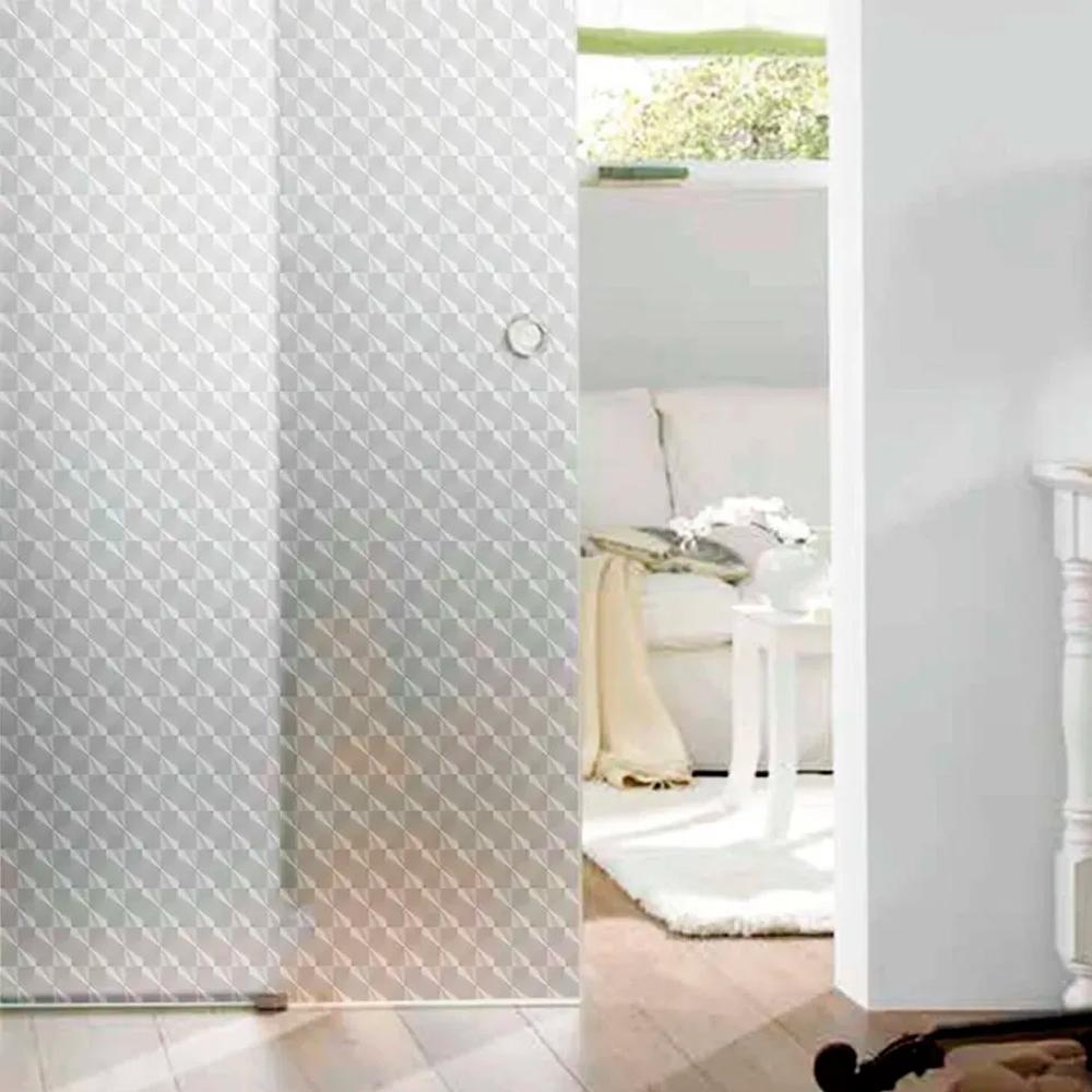 Adesivo Para Vidro Box Banheiro Jateado Dimension 0,61m Prova D