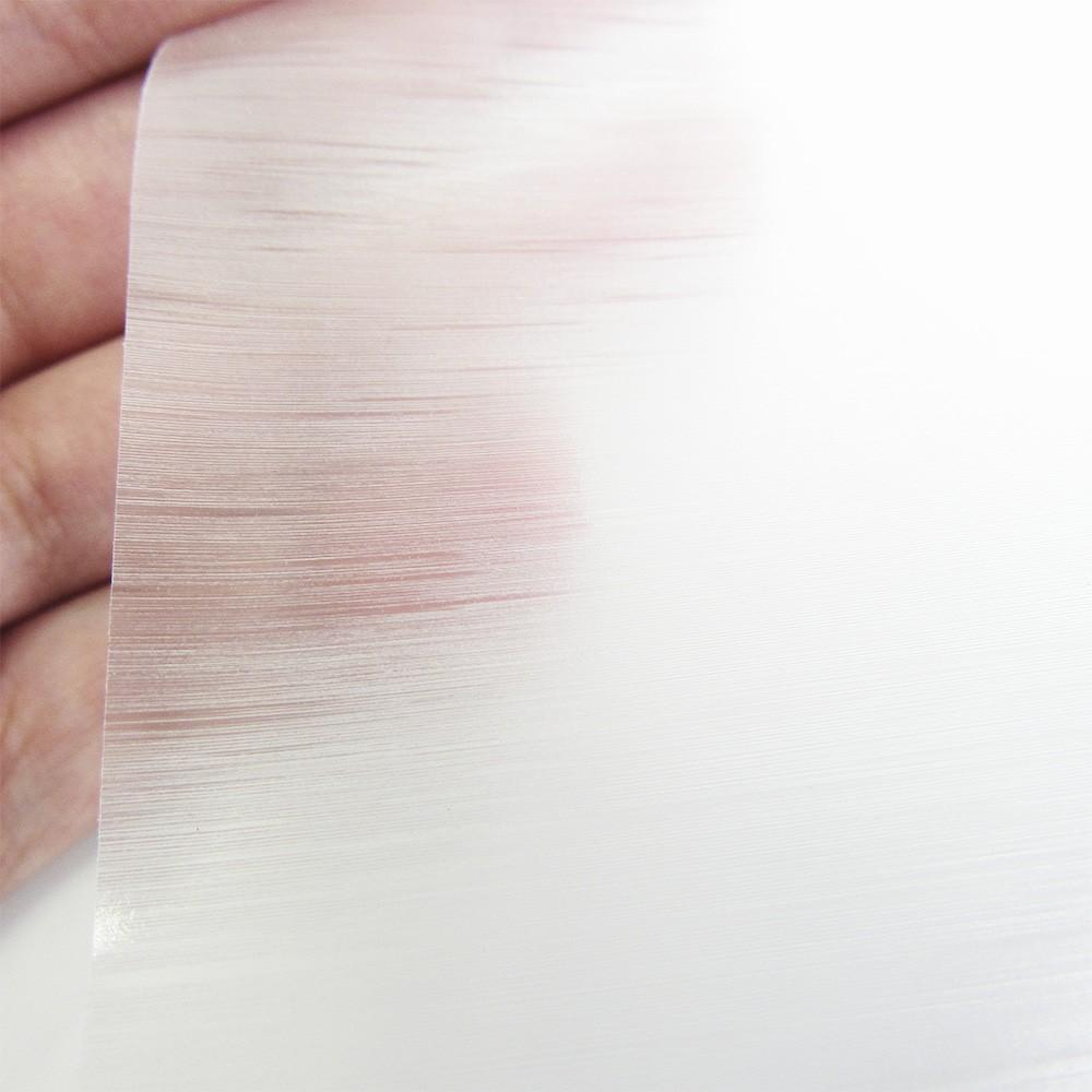 Adesivo Para Vidro Box Banheiro Jateado Escovado 0,61m Prova D