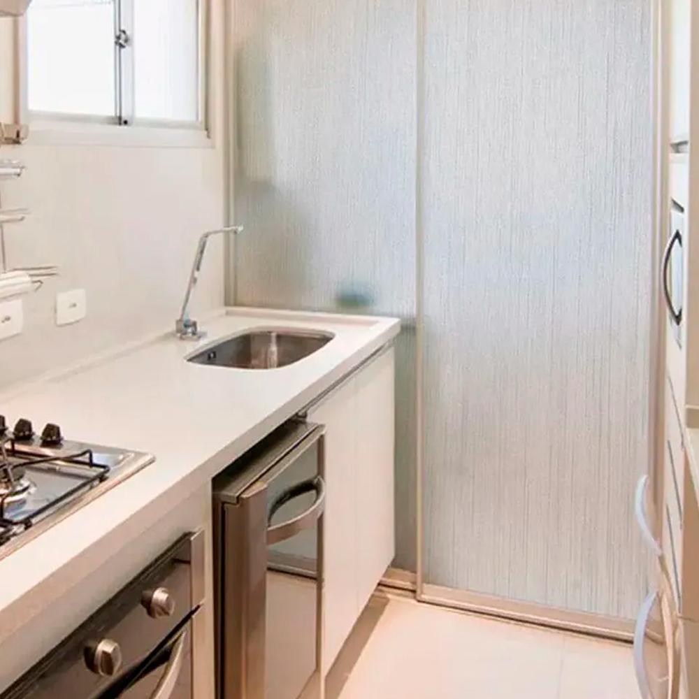 Adesivo Para Vidro Box Banheiro Jateado Linho 0,61m Prova D