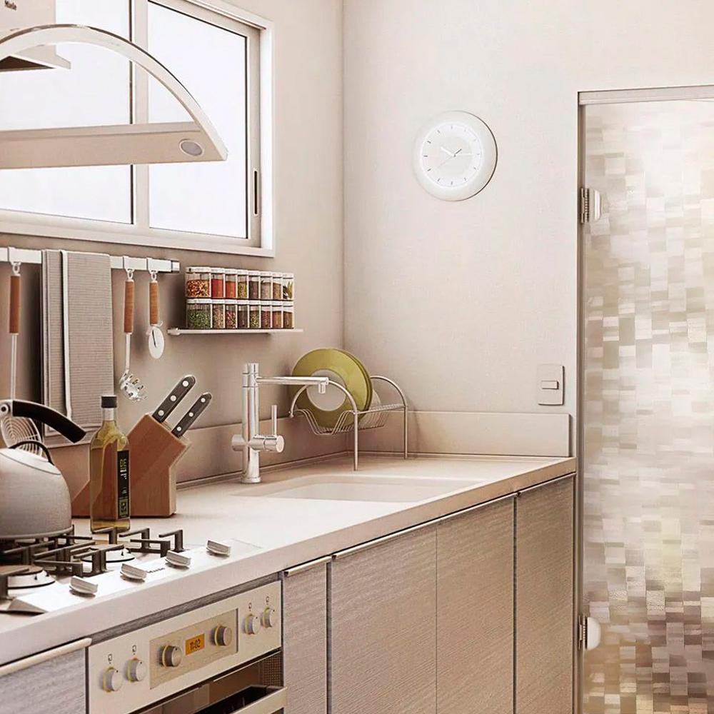 Adesivo Para Vidro Box Banheiro Jateado Pixel 1,22m  - TaColado